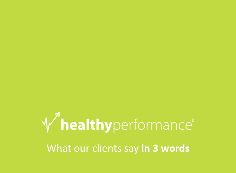 what our clients say in 3 words video