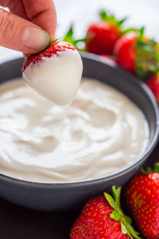 easy maple greek yogurt dip  Healthy Seasonal Recipes
