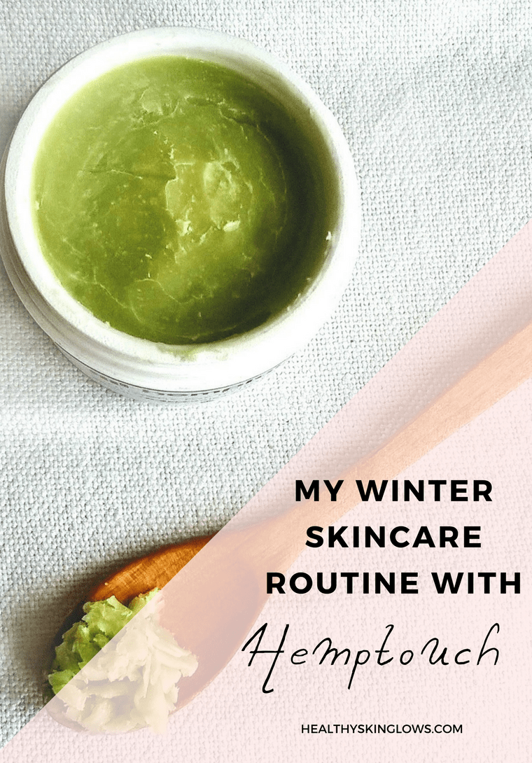 winter skincare hemptouch