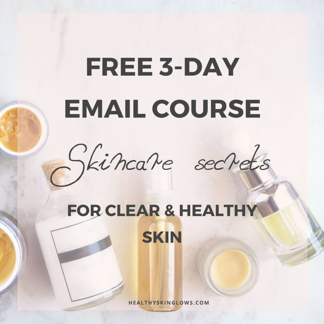 Free email course clear healthy skin