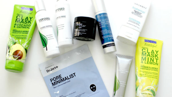 assorted-acne-products
