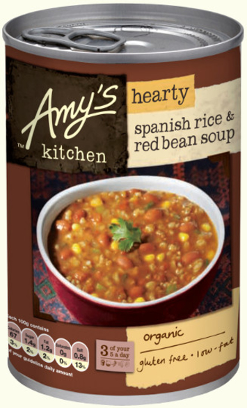 amy's kitchen soup how to decorate your hearty spanish rice red bean 416g amy s
