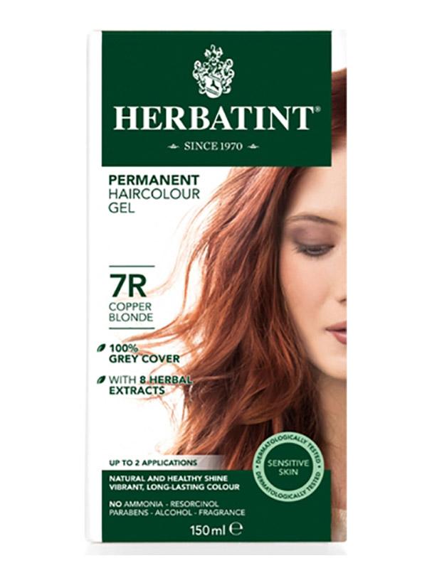 7R Copper Blonde Hair Colour 150ml (Herbatint ...