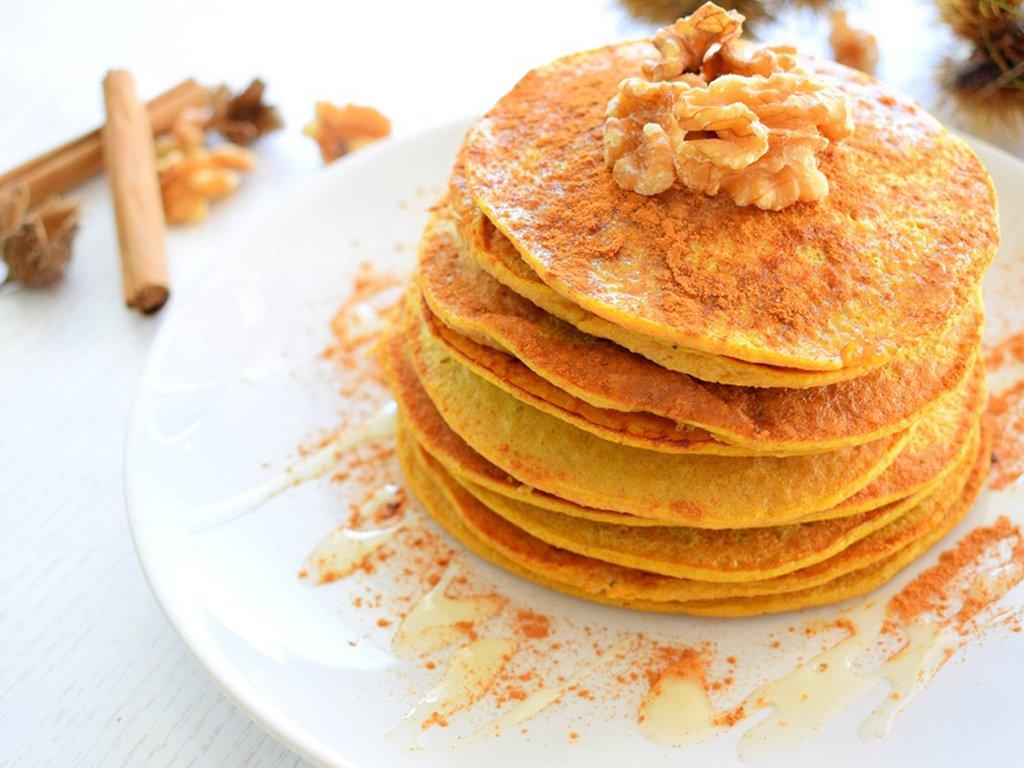 Fall pancakes | Pompoen pannenkoeken | Zelf pannenkoeken maken