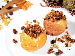 Gevulde appels | Warm dessert recept | Healthy Wanderlust
