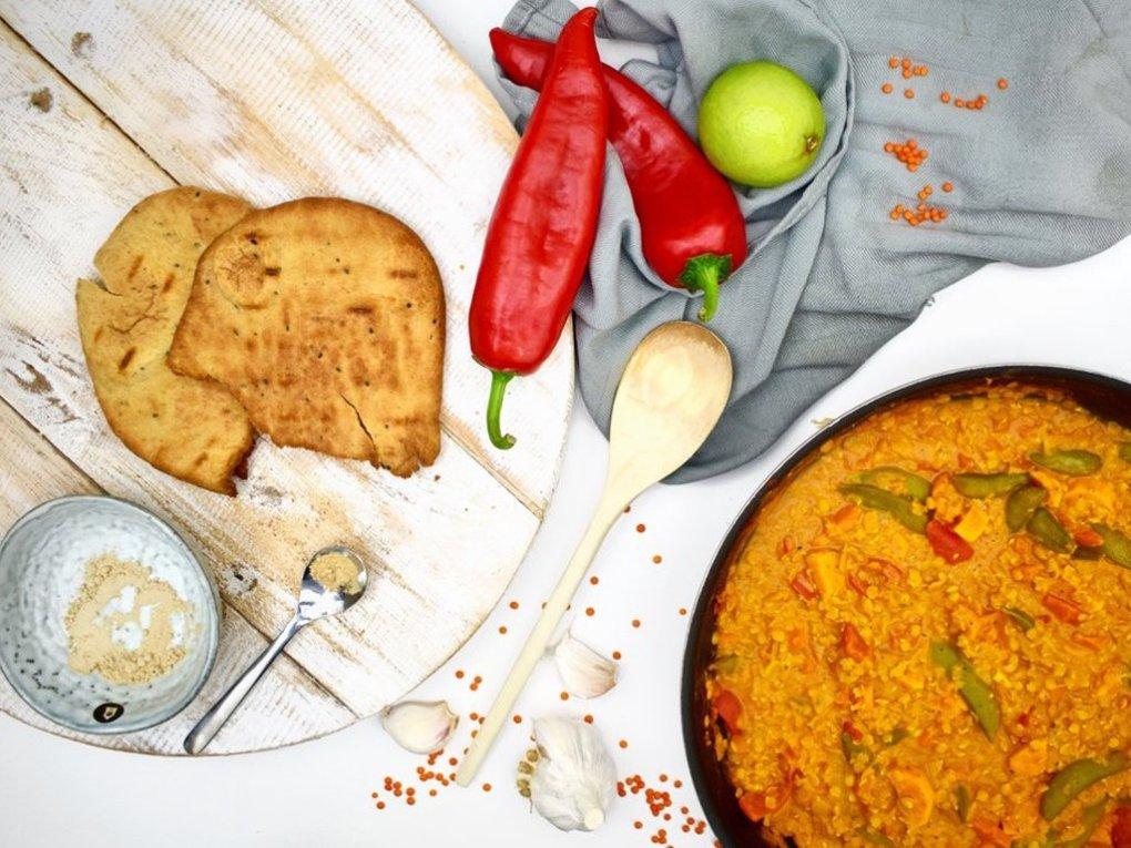 Linzen curry | Vegan recept | Eet gezond met Healthy Wanderlust