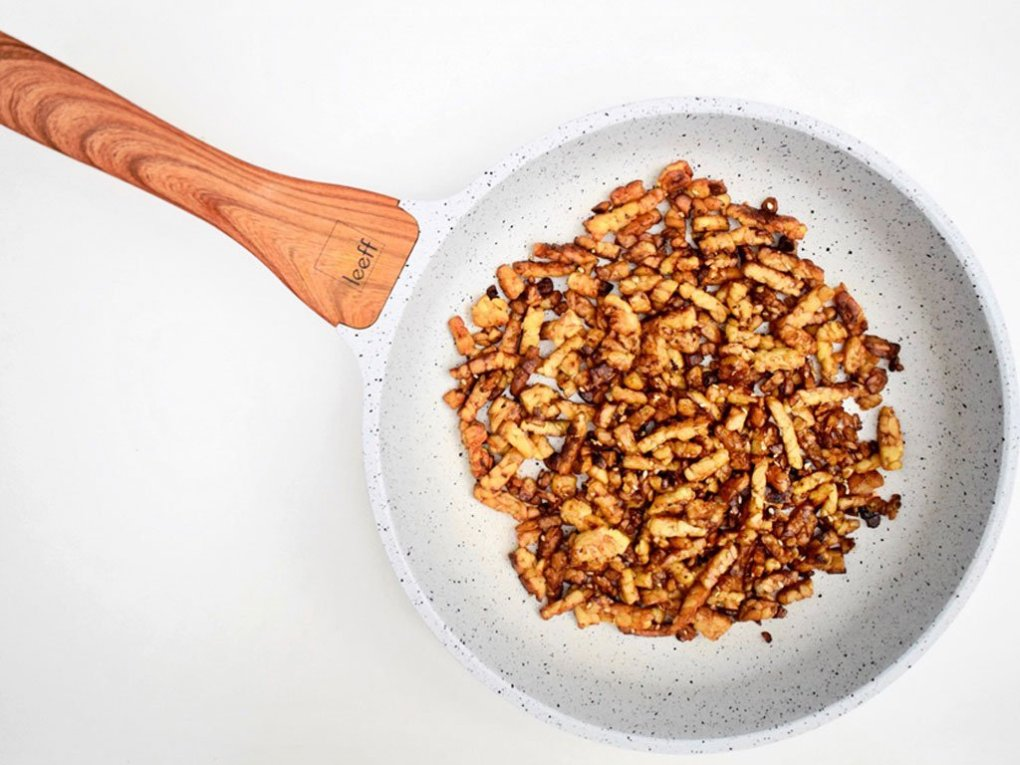 Tempeh recept | Vegetarische tempeh spekjes | Healthy Wanderlust