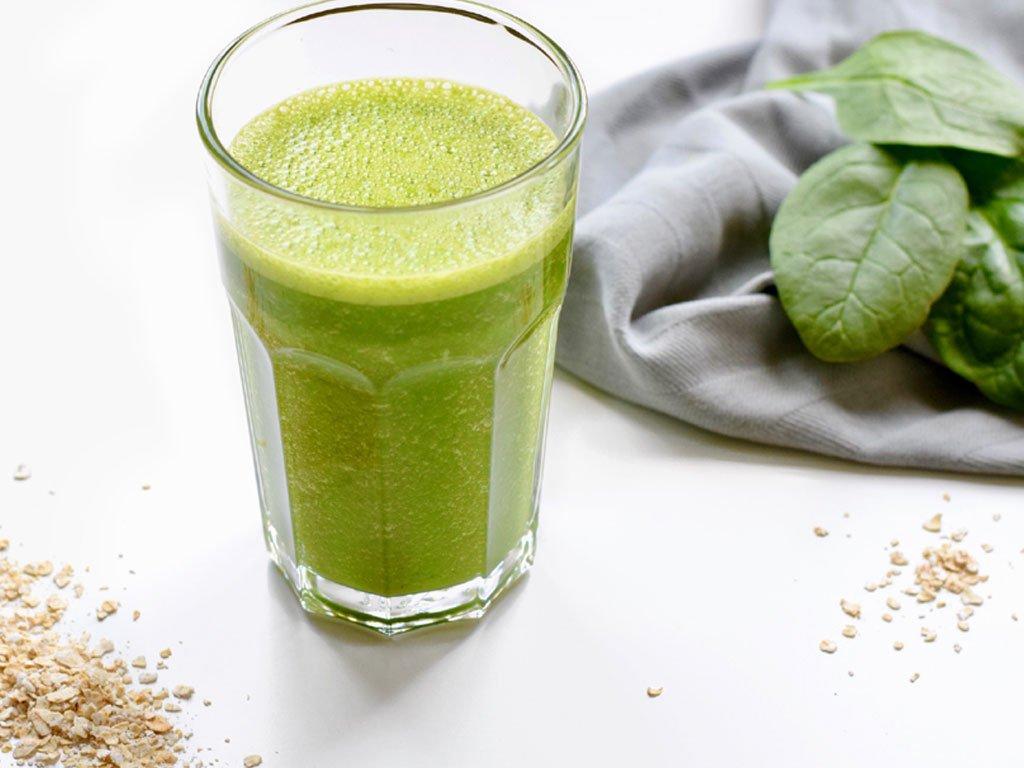 Groene ontbijt smoothie | Eet gezond | Healthy Wanderlust