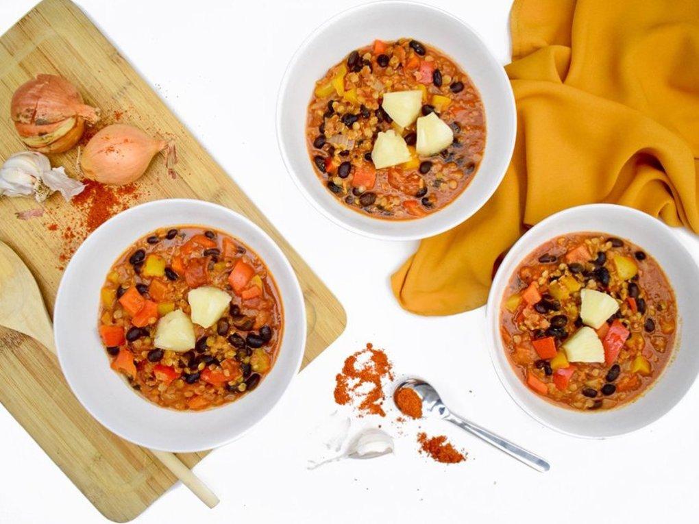 Chili sin carne | Vegetarisch recept | Healthy Wanderlust
