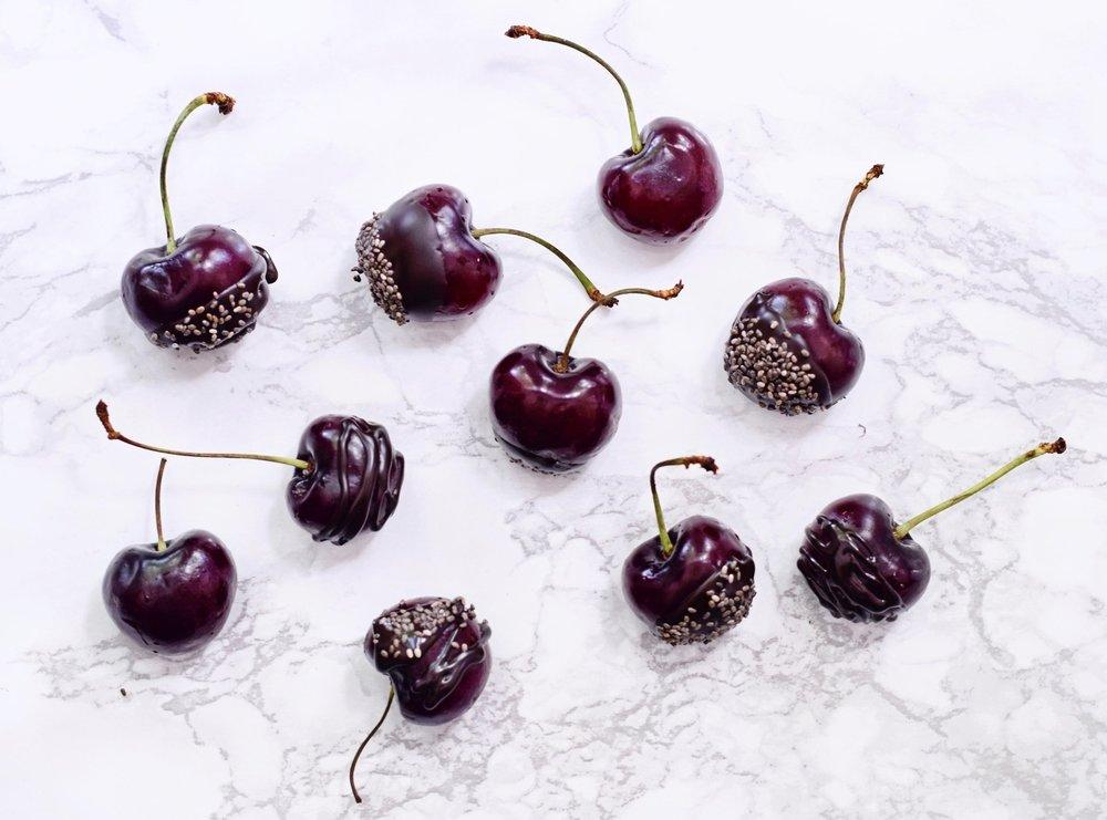 Cherry bites | Gezonde snack recept | Healthy Wanderlust