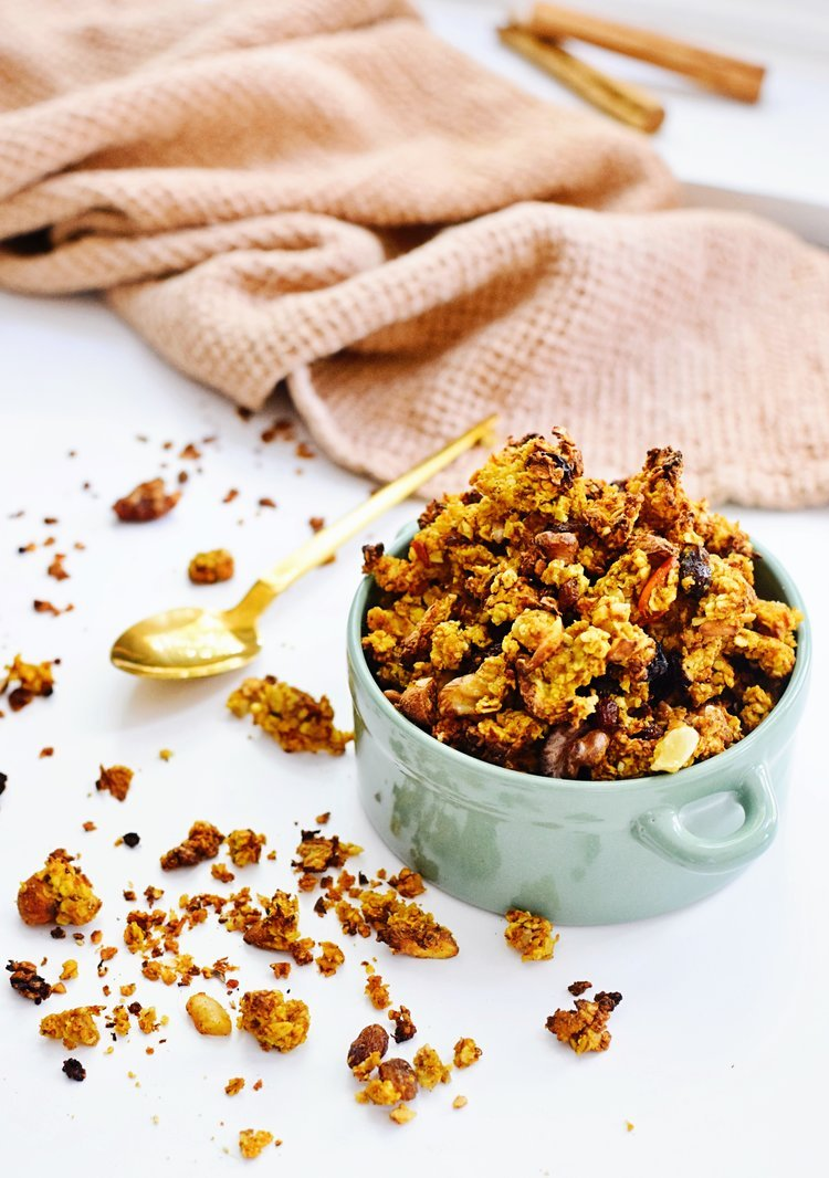 Herfst granola | Zo maak je zelf granola | Healthy Wanderlust