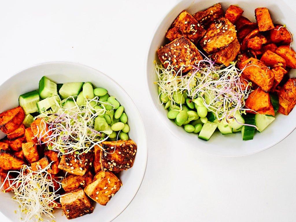 Gemarineerde tofu bowl | Vegetarisch recept | Healthy Wanderlust