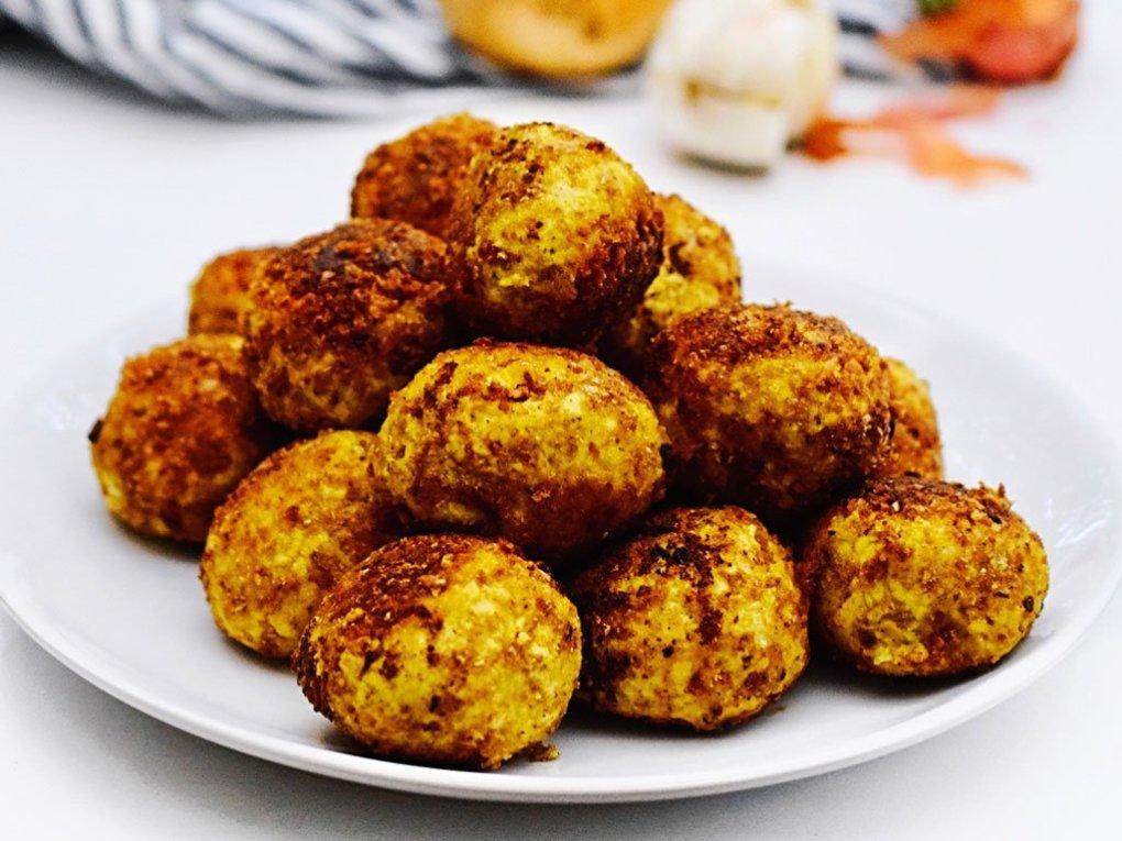 Vegetarische gehaktballen   Vegetarisch recept   Healthy Wanderlust
