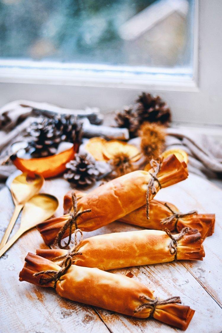 Kerst voorgerecht | Gezonde christmas crackers | Kerstmenu