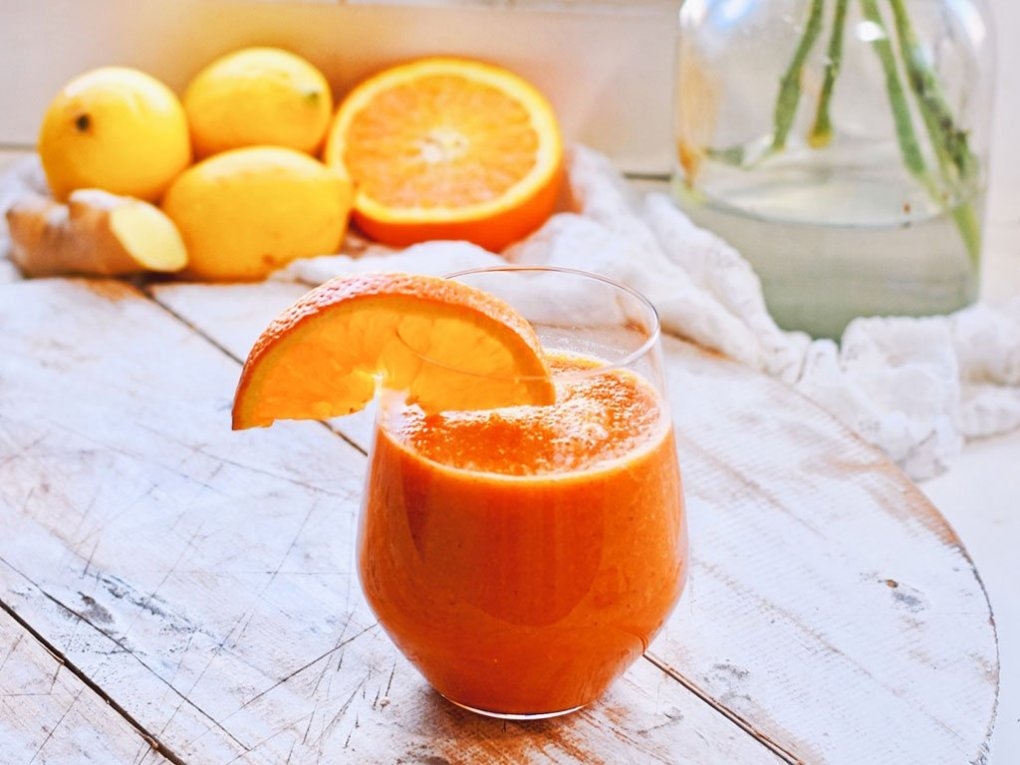 Gember citroen sapje