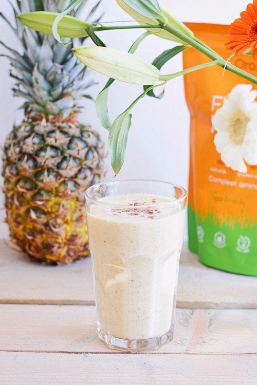 Gezonde smoothie | Ananas banaan smoothie