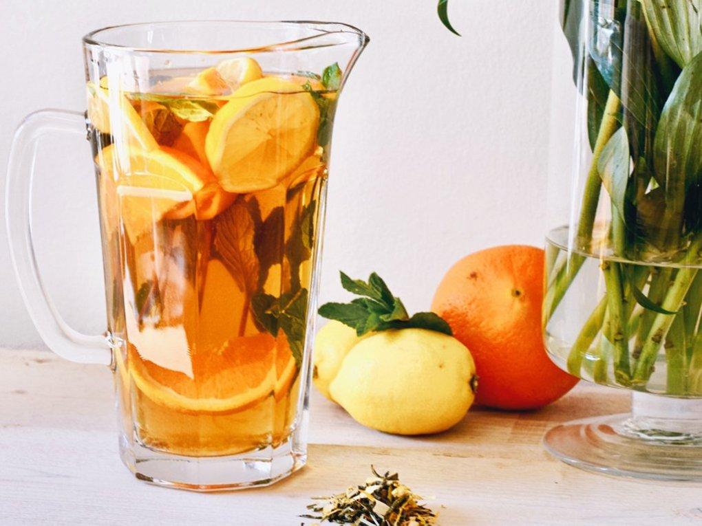 Gezonde iced tea recept | Healthy Wanderlust