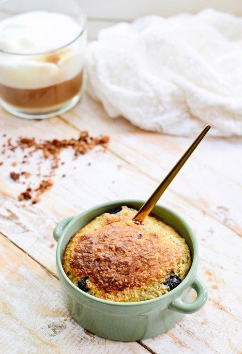 Taartje van havermout als ontbijt | Ontbijt recept | Healthy Wanderlust