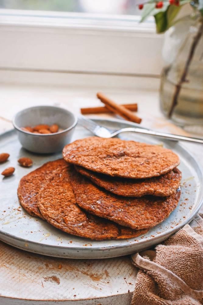 Speculaas pannenkoeken   Gezonde pannenkoeken recept