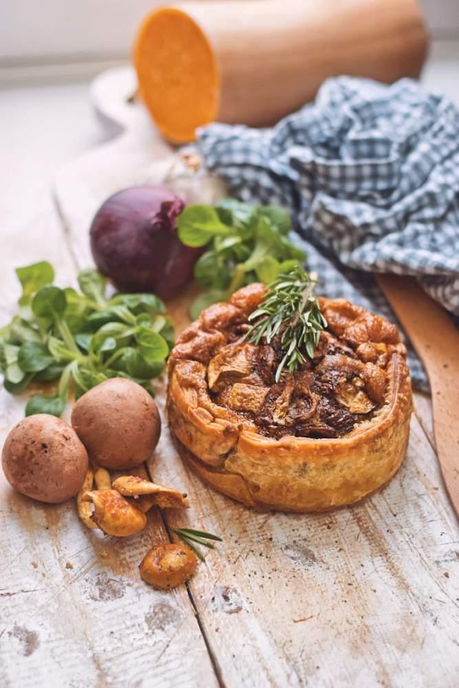Quiche met paddenstoelen | Quiche recept