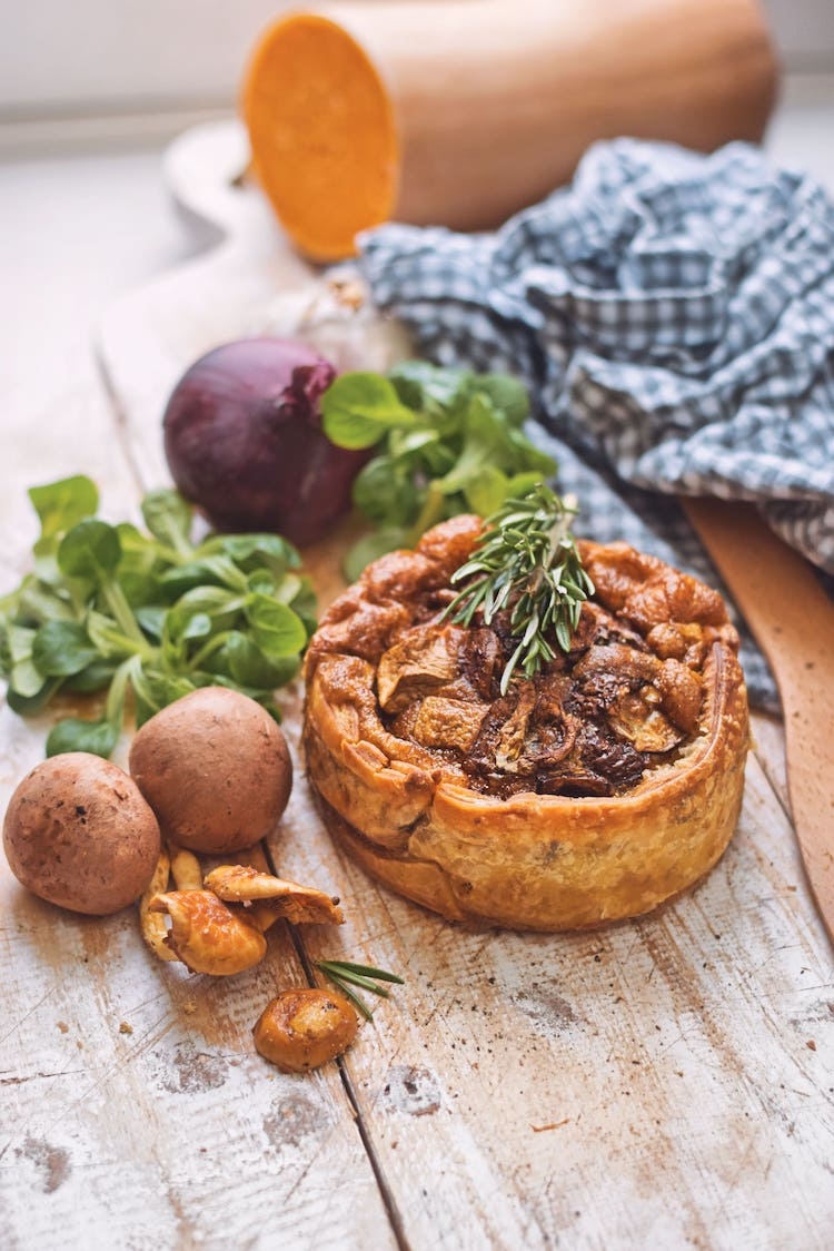 Quiche met paddenstoelen | Quiche recept