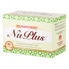 Sunrider® NuPlus® Apple Cinnamon 10 Packs (0.52 oz./15 g each bag)