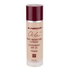 Sunrider® Oi-Lin® Deep Moisture Lotion Sunscreen SPF 25 Tinted - Net Wt. 1.75 fl. oz./50 mL