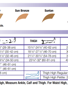 Size and color chart also jobst ultrasheer mmhg compression stockings rh healwellmedicalsupply