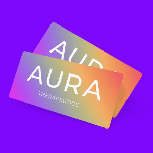 AURA Therapeutics gift card redeemable for kratom teas and crystal gifts