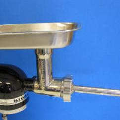 Kitchen Aid Meat Grinder Attachment Home Depot Island Lighting All Stainless Steel For Kitchenaid ...