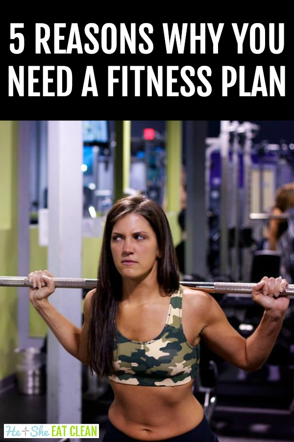 5 Reasons Why You Need A Fitness Plan