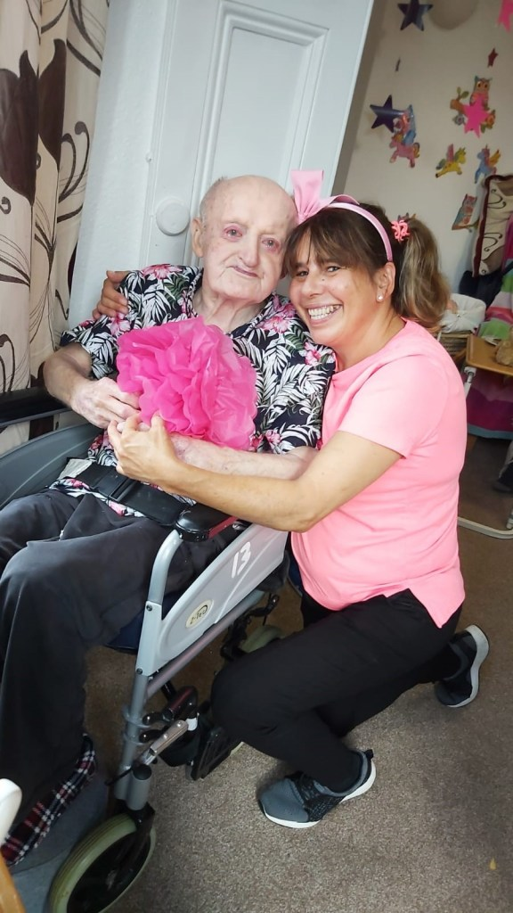 Heanton Nursing Home comes together to raise awareness for Wear it Pink Day