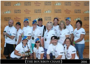 """Finisher Photo for Team Whiskey River, """"We don't run dry"""""""