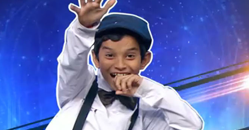 deaf indian dancer boy on Super Dancer