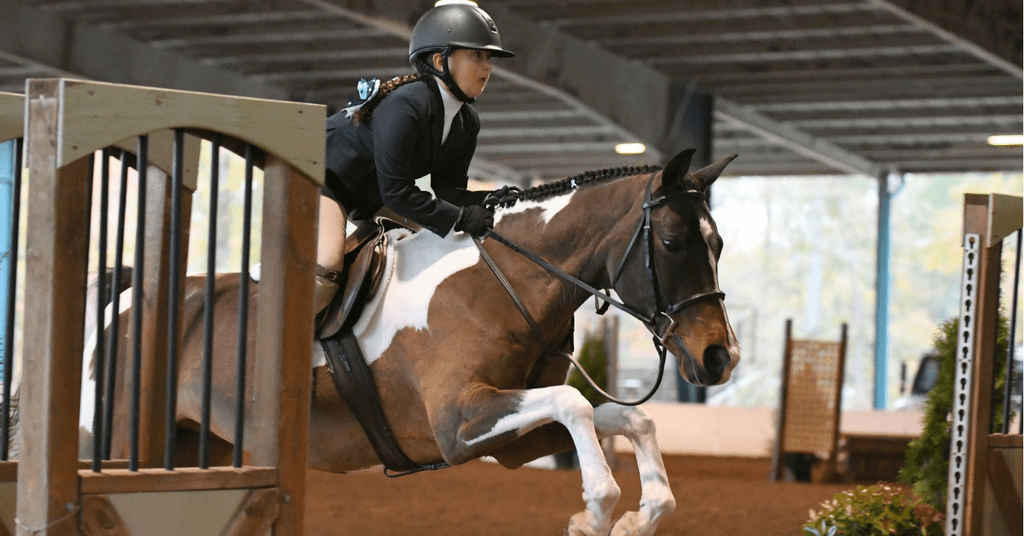 equestrian with hearing loss