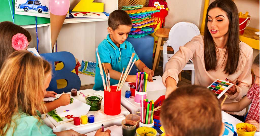 preschooler with hearing loss
