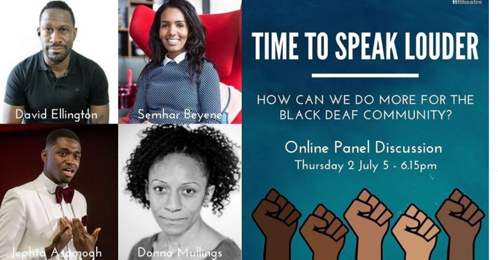 black deaf community panel