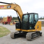 Caterpillar 307.5 Next Gen Bolt on Excavator with Cab Guard