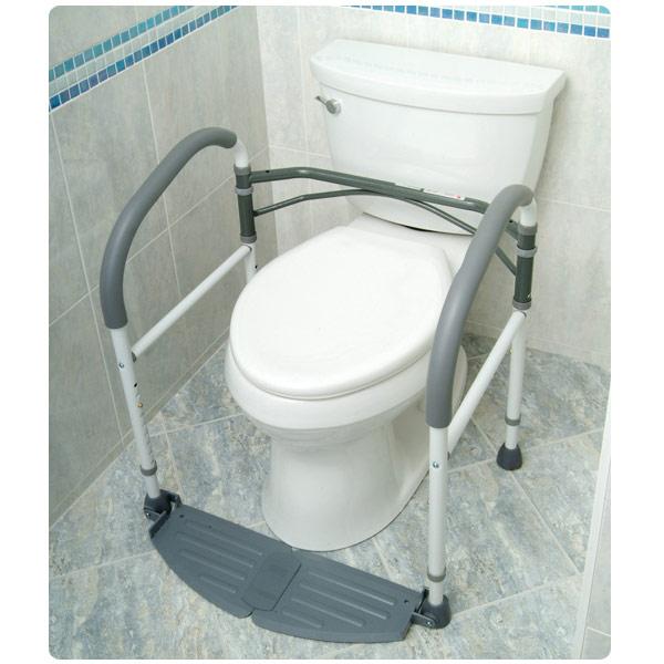 Foldeasy Portable Toilet Support Frame Bathroom
