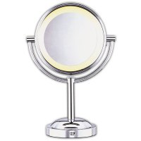 Conair Double-Sided 5x-1x Lighted Makeup Mirror | Mirrors ...