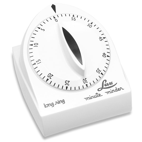 kitchen timer for hearing impaired cheap countertops lux 60-minute extended ring - white | low vision ...