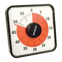 Kitchen Timer For Hearing Impaired Stove Tops Reizen Magnetic Jumbo Low Vision Timers Hearmore