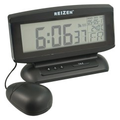 Kitchen Timer For Hearing Impaired Stainless Steel Kitchens Reizen Talking Clock With Large Lcd Display And Vibrating