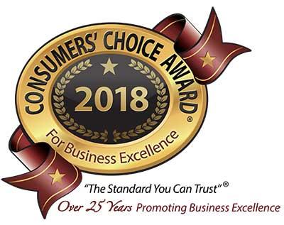 2018 Consumer's Choice Award