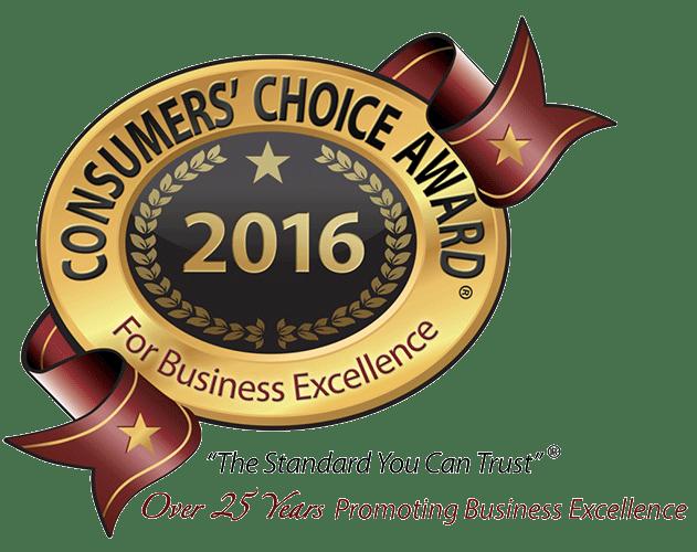 Consumers Choice Award 2016