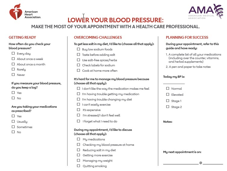 Questions To Ask Your Doctor About Blood Pressure