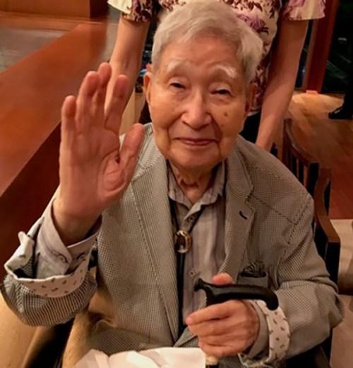 Dr. Tomisaku Kawasaki. (Photo courtesy of Kathryn Taubert)