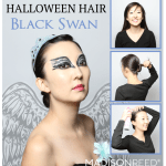 Looking for some super simple halloween hairstyles check these out.