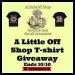 A Little Off Shop T-shirt Giveaway
