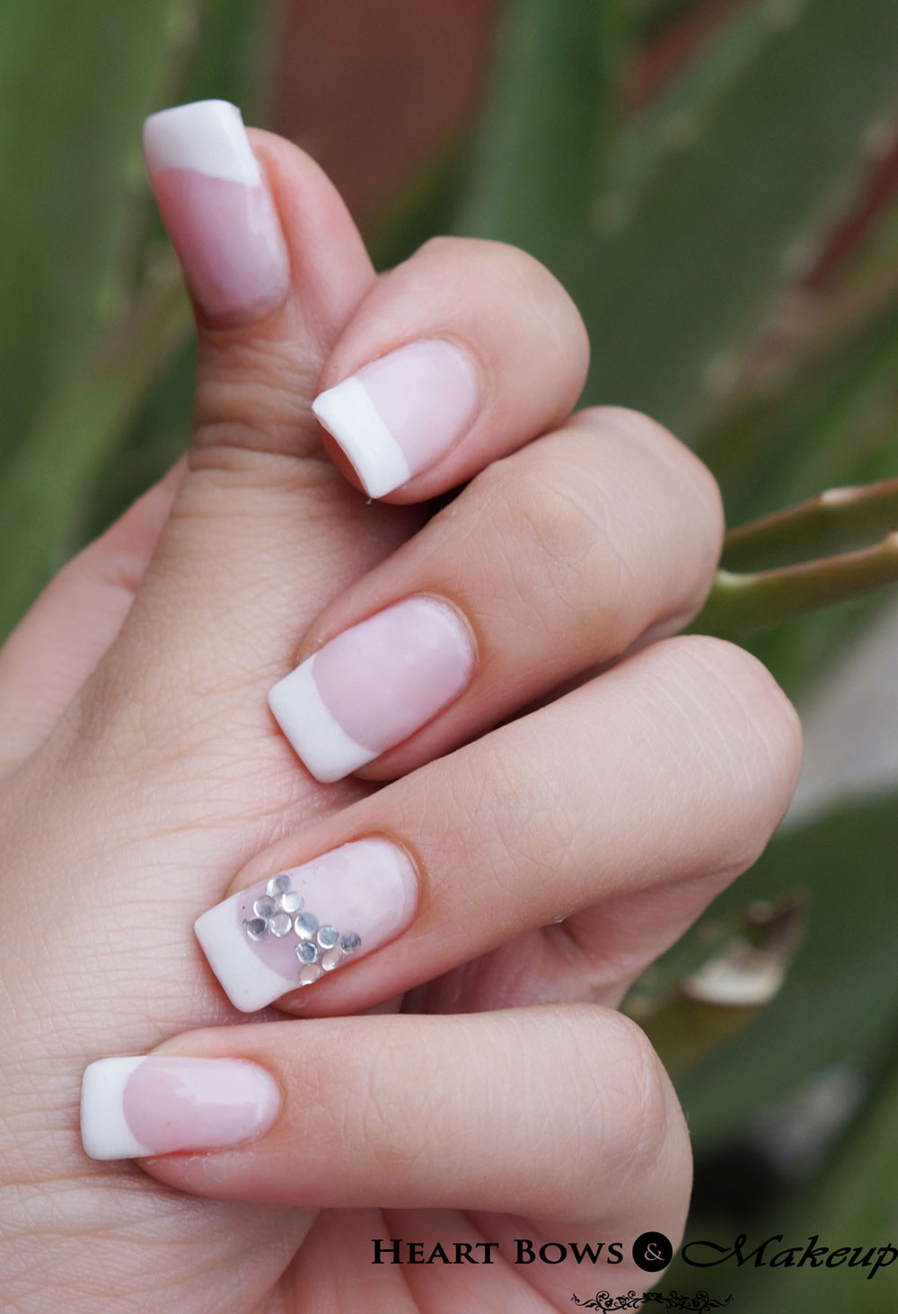 Permanent Nail Extensions With French Manicure